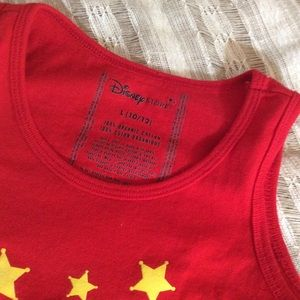 Disney Shirts & Tops - Cowgirl Jesse Disney Red Tank Top Toy Story